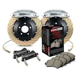 For Toyota Tacoma 05-15 Stoptech Performance Drilled 2-piece Front Big Brake Kit