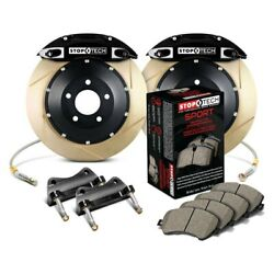 For Audi A5 Quattro 09-17 Performance Slotted 2-piece Front Big Brake Kit