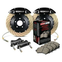 For Honda Civic 12-15 Stoptech Performance Drilled 2-piece Front Big Brake Kit