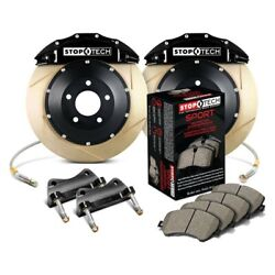 For Bmw 330xi 06 Stoptech Performance Slotted 2-piece Front Big Brake Kit