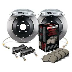 For Honda Accord 03-07 Stoptech Performance Slotted 2-piece Front Big Brake Kit