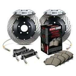 For Honda Accord 06-07 Stoptech Performance Drilled 2-piece Rear Big Brake Kit