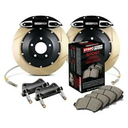 For Infiniti G35 03-04 Stoptech Performance Slotted 2-piece Rear Big Brake Kit