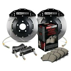 For Bmw 550i 06-10 Stoptech Performance Slotted 2-piece Front Big Brake Kit