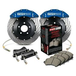 For Bmw M240i Xdrive 17-19 Performance Drilled 2-piece Front Big Brake Kit