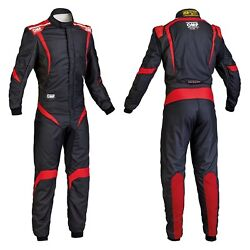 Omp Ia0185207348 One-s1 Series Black W Red 48 Racing Suit