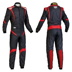 Omp Ia0185207358 One-s1 Series Black W Red 58 Racing Suit