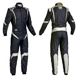 Omp Ia0185207654 One-s1 Series Black W White 54 Racing Suit