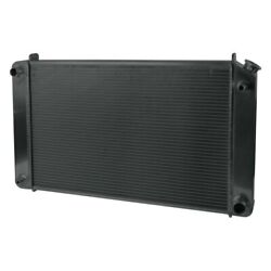 For Chevy C30 75-79 Afco 80242-b-sb-n Muscle Car Performance Radiator W Fan