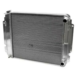 For Chevy Chevelle 66-67 Afco Muscle Car Performance Radiator W Dual Fan