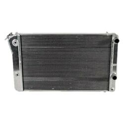 For Chevy Camaro 67-69 Afco Muscle Car Performance Radiator W Dual Fan