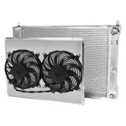 For Ford Mustang 97-04 Afco Muscle Car Performance Radiator W Dual Fan