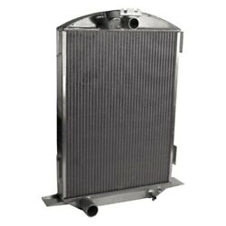 For Ford 1/2 Ton Pickup 32 Afco Street Rod Performance Radiator W Fan