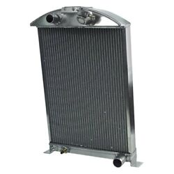 For Ford Model 40 A 34 Street Rod Performance Radiator W Transmission Cooler