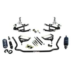 For Chevy Monte Carlo 71-72 2-3 Front Corner Max Handling Kit W Tall Spindles