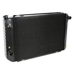 For Ford Mustang 79-93 Dewitts 1248012a Direct Fit Pro-series Aluminum Radiator
