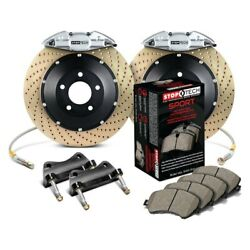 For Honda Accord 04-07 Stoptech Performance Drilled 2-piece Rear Big Brake Kit
