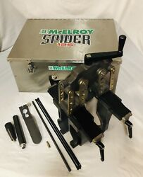 Mcelroy Model Spider 125 Fusion Machine Series 2 Pipe Fusion Tool 2019 Model