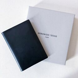Hobonichi Taut 2019 cover in deep navy blue $120.00