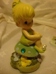 Precious Moments Disney Light Up Tinker Bell Birthday Fairy March No Wings 383
