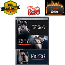Fifty Shades Of Grey Trilogy 3 Movie Collection Dvd