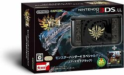 Nintendo 3ds Ll Monster Hunter 4 Special Pack Gore Magala Black Discontinued