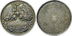 Germany Free City Augsburg Medal 1700 Silver Xf Rrr