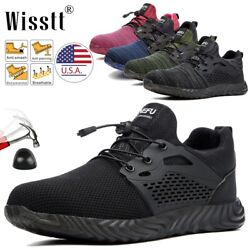 Mens Safety Work Shoes Steel Toe Boots Indestructible Outdoor Casual Sneakers T5 $39.99