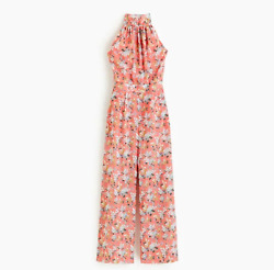 J Crew High-neck Jumpsuit In Liberty® Josephine Floral K7712 Size 4