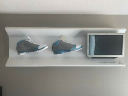 Touch Screen Jordan Shoe Display With Interactive History Of Flight Shoe History