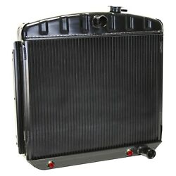 For Chevy Bel Air 55-57 Dewitts 1249013a Direct Fit Pro-series Aluminum Radiator