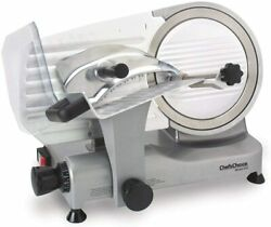 Chefand039schoice 672 Professional Electric Food And Meat Slicer Tilted Design For Fa