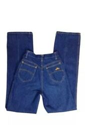 Vintage Chic By H.i.s. Blue Jeans 80's High Rise Mom Jeans Size 8/9 Waist 26