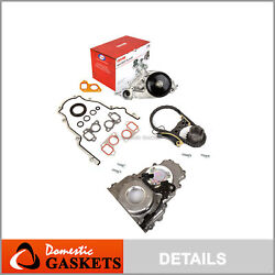 Timing Chain Kit Timing Cover Water Pump 07-16 Chevrolet Gm 5.3 6.0 6.2l Ohv