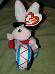 Ty Beanie Babies Baby 2007 The Energizer Bunny Walgreen's Exclusive Tags Rabbit