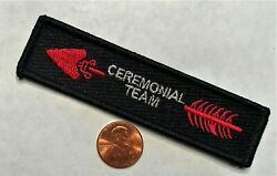 Oa Order Of The Arrow Boy Scouts Of America Ceremonial Team Black Sash Smy Patch