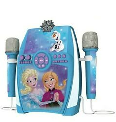 Ekids Fr-615 Sing-a-long Frozen Deluxe Boom Box With Dual Microphones