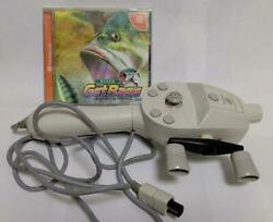 Get Bass W/fishing Soft And Controller Sega Dreamcast1999 Ship From Japan Used