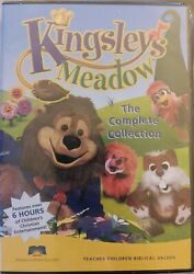 Kingsley's Meadow - The Complete Collection 2006 Dvd 4-disc Bible Kids Set New