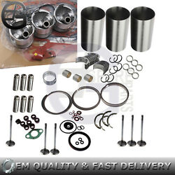 Overhaul Rebuild Overhaul Kit For Kubota D1503 Engine R420 R420s Loader