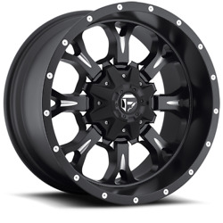 17x9 Fuel D517 Black Krank Wheels 33 At Tires 6x135 Ford F150 Expedition Tpms