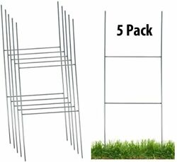 Sturdy Metal H Frame Wire Step Stakes For Yard Signs10 X 30 Inchstakes Only