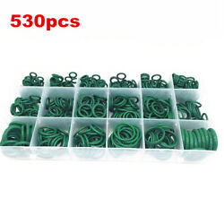 530x Green O Rings 18 Sizes A/c System Air Conditioning Hnbr Ac Repair Kit