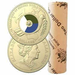 Australia 2020 2 Coloured Coin Mint Roll Mintage 5000 Rolls Only Made
