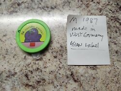 Vintage Mcdonalds Grimace Happy Meal Toy Asian Label Made In Germany