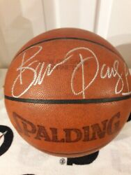 New Orleans Hornets 2002-03 First Ever Home Game Used Signed Basketball Psa Coa