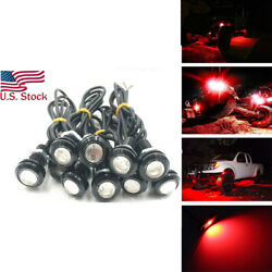 10x Red Led Underbody Glow Under Car Accent Rock Neon Light For Toyota Tundra