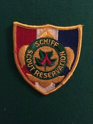 Bsa Schiff Scout Reservation Patch And Bolo Tie