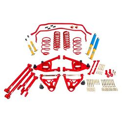 For Chevy Malibu 64 Bmr Suspension Hpp014r Handling Performance Package Level 2