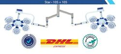 New Surgical Ot Light Operation Theater Led Lamp Ot Satellite For Surgery Dual